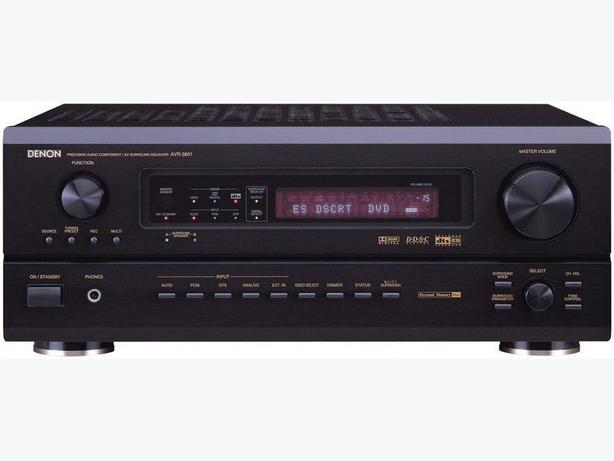 Denon AVR-3801 A/V receiver 7.1 channel & DCM-370 5 CD Changer
