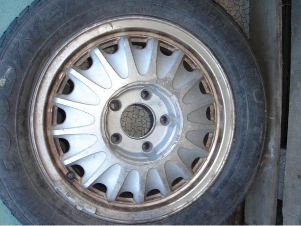 ** Tire on Rim & Tires **