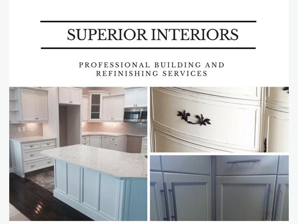 Professional furniture refinishing and custom building