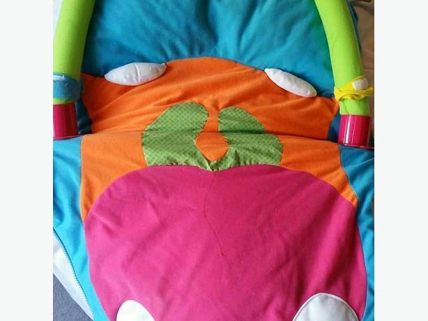 FREE: Tummy Time/Play mat