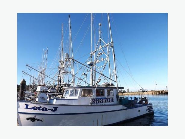Commercial Troller & Oregon Salmon Permit Package For Sale - Leta J
