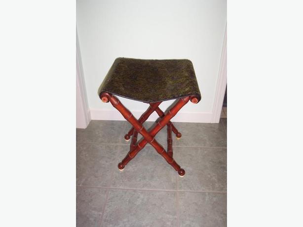 Vintage Orford Folding Seat