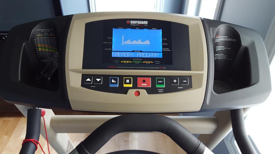 Bodyguard T240 P Treadmill And Shock Absorber Mat 575