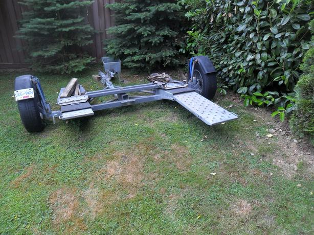 tow dolley with built in ramps