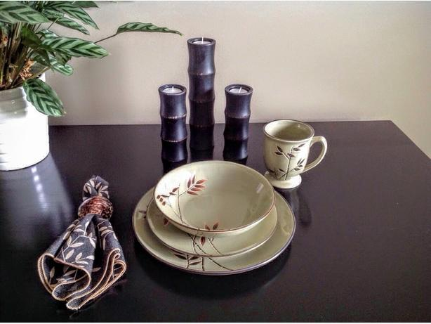 Asian-style Dinnerware and Accessories