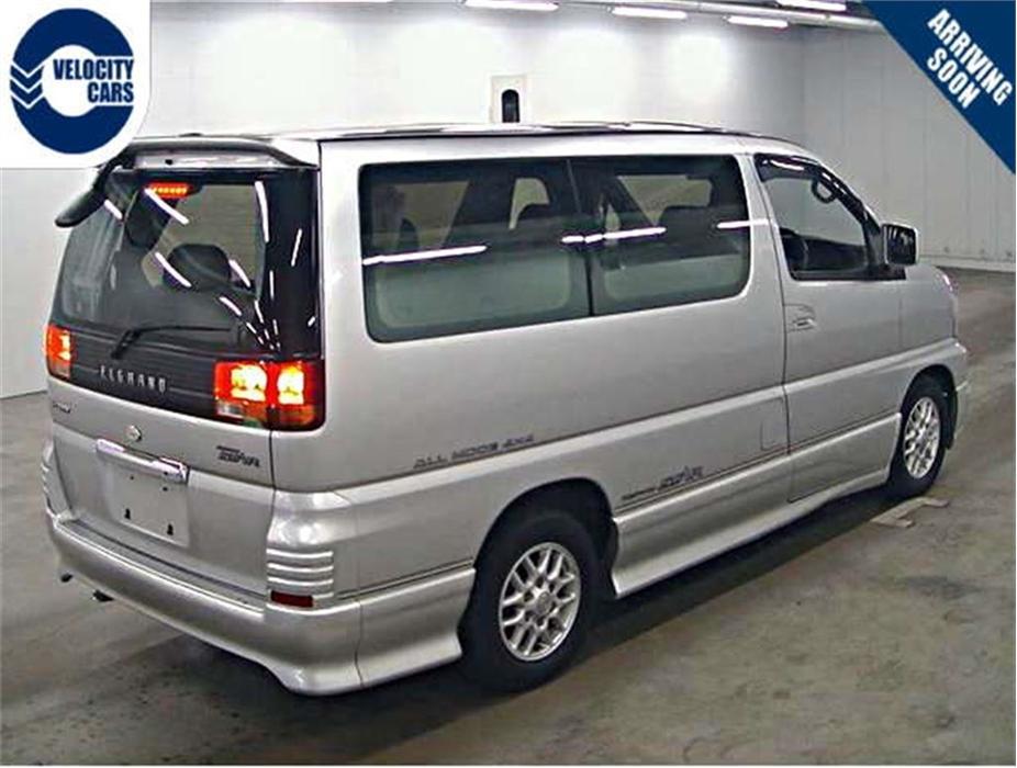 1998 Nissan Elgrand 99k S Turbo Diesel 4wd 7 Seats Outside