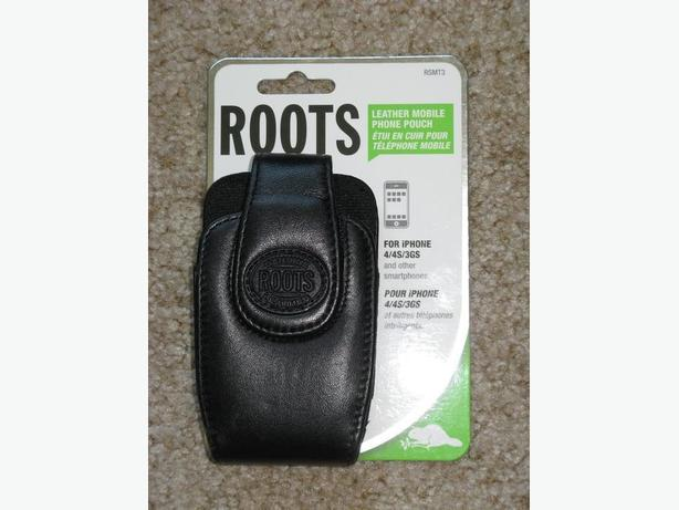 Roots Leather Case for iPhone 4/4S/3GS & others