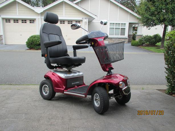 virtually new mobility scooter