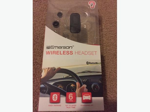 Emerson wireless headset Bluetooth