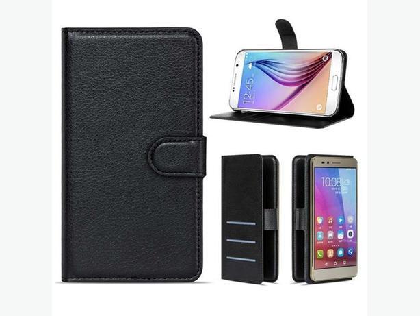 "Premium Luxury Leather Wallet Flip Case for Alcatel Pixi 3 4.5"""
