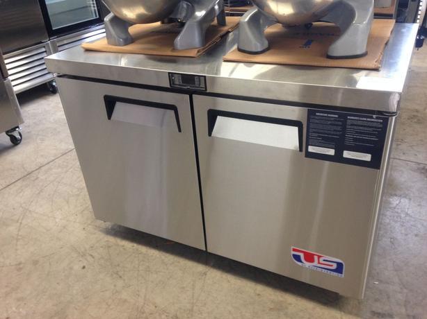 US Ref Double Door Undercounter Freezer