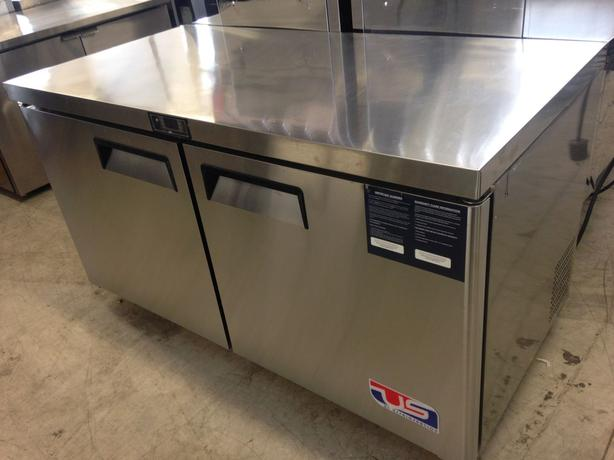 "US Ref Double Door 60"" Undercounter Freezer"