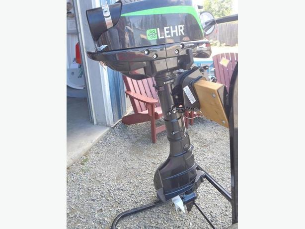 LEHR 5HP LONG SHAFT OUTBOARD MOTOR - PROPANE