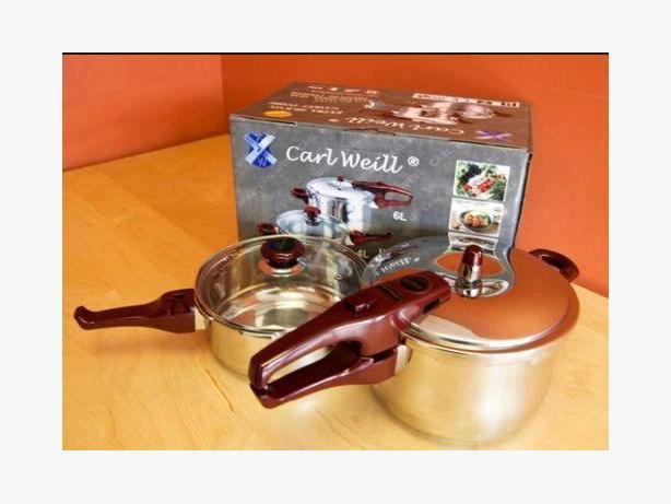 Carl Weill New & unopened 4L & 6L Pressure Cooker Set