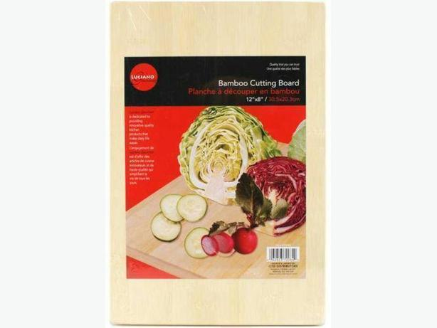 Luciano Gourmet Healthy Bamboo Cutting Board