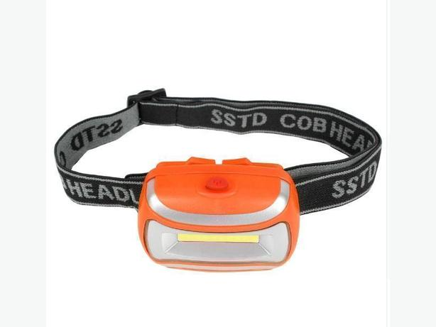 3W Compact Waterproof Head Strap LED Flashlight Headlight 3 Mode