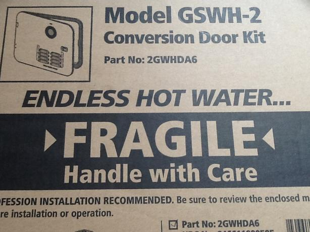 Girard -2  Hot Water Tankless Door