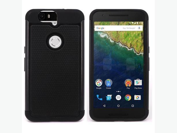 Heavy Duty Rugged Two Layer Case for Huawei Google Nexus 6P