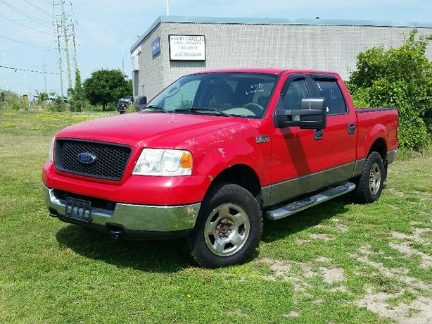 2005 ford f150 xlt 4x4 crew cab gloucester ottawa. Black Bedroom Furniture Sets. Home Design Ideas