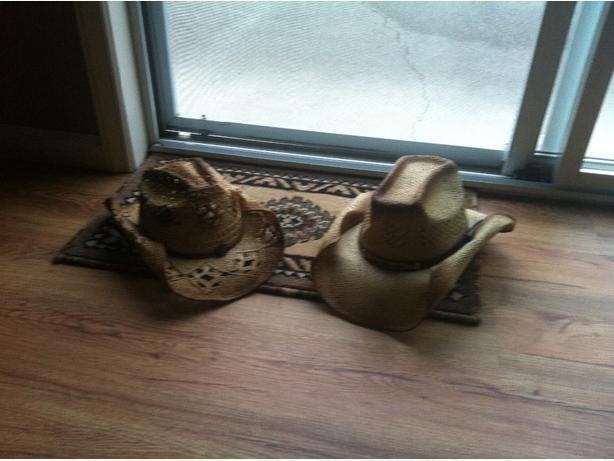 western staw hats
