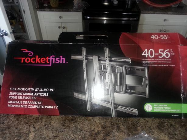 Rocketfish Full-Motion TV Wall Mount 40-56""