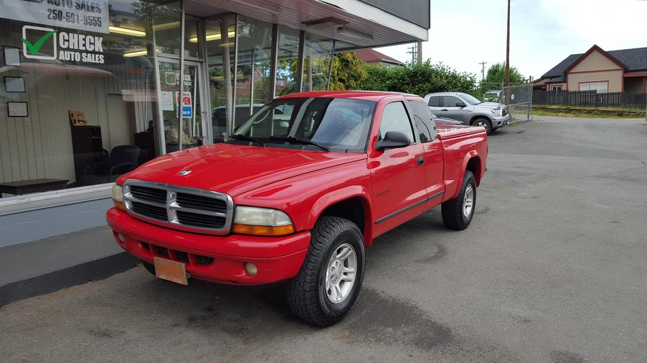 2002 dodge dakota sport 4x4 on sale outside comox valley. Black Bedroom Furniture Sets. Home Design Ideas