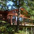 Quadra Island, BC.  Waterfront Vacation Rental