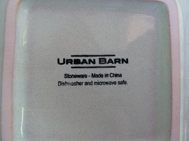 Urban Barn dish set