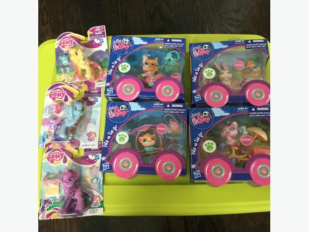 Littlest Pet Shop &  My Little Pony