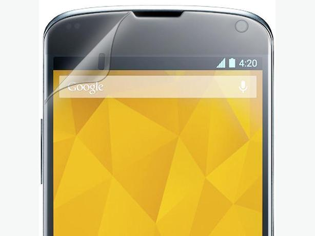 Clear Screen Protector for LG Google Nexus 4 E960