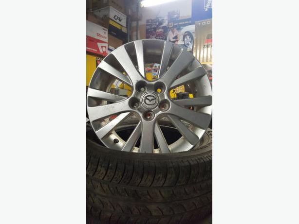 "17"" Original Mazda Wheels"