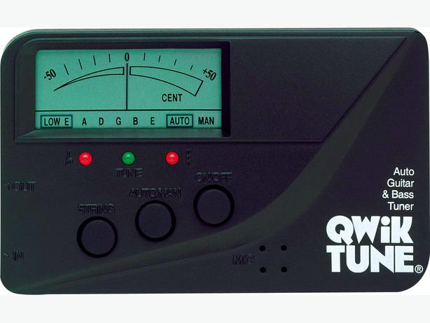 QwikTune QT1 Guitar and Bass Tuner