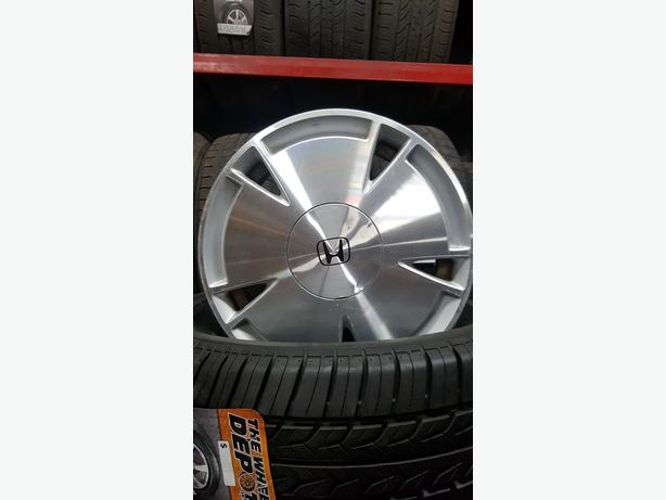 "15"" ORIGINAL HONDA 4 BOLT ALLOYS"
