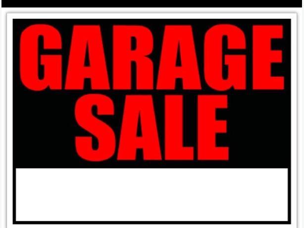 Downsizing Garage Sale