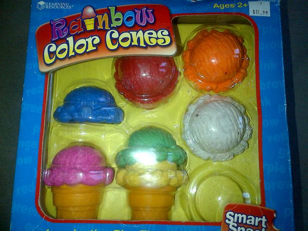 Ice cream cone set