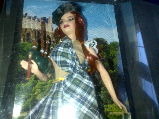 Scotland Barbie