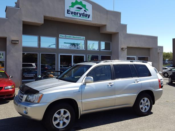 2001 Toyota Highlander V6 LIMITED 4x4 - REDUCED!