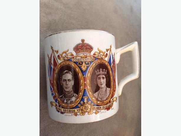 1937 Coronation Mug