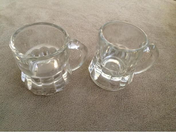 Miniature Glass Mugs