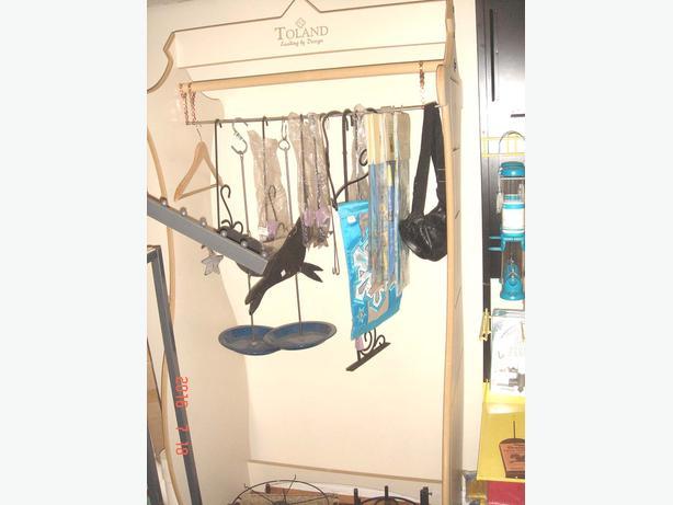 Retail display spinner racks