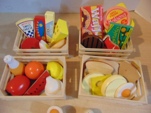Melissa And Doug Wood Play Kitchen Food Sets Each Victoria City Victoria