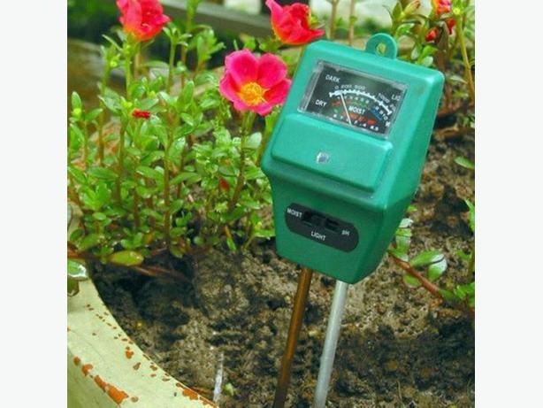 3 in 1 PH Soil Water Moisture Light Tester Meter for Garden Plant Flower