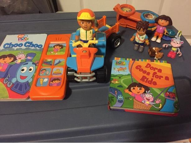 Dora & Friends and Sesame Street Toys
