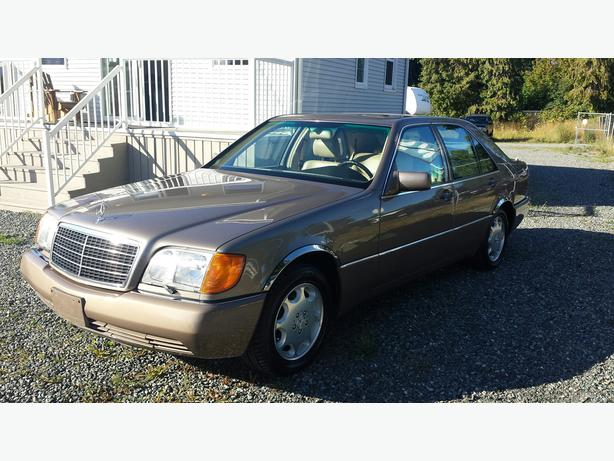 Collector 1992 Mercedes S320 Mint!! *NEW TRANSMISSION* PRICE REDUCED *