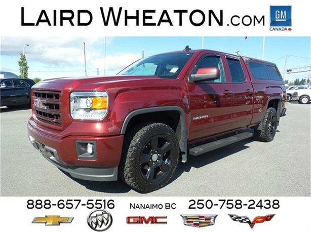 2015 gmc sierra 1500 elevation edition 4x4 with canopy