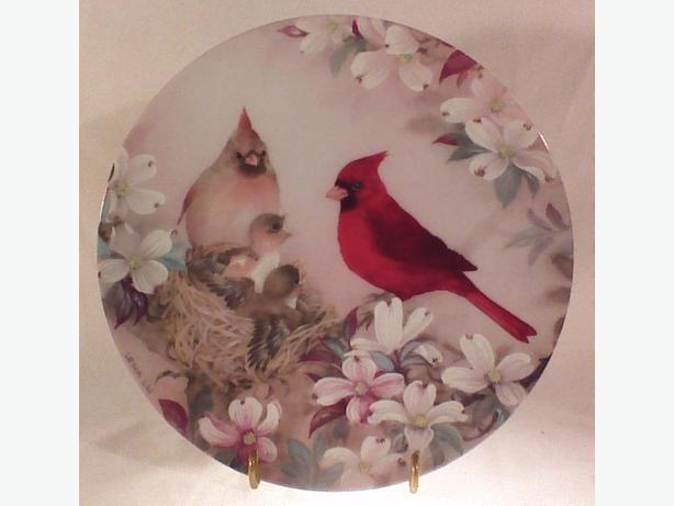 Lena Liu Morning Serenade collector plate