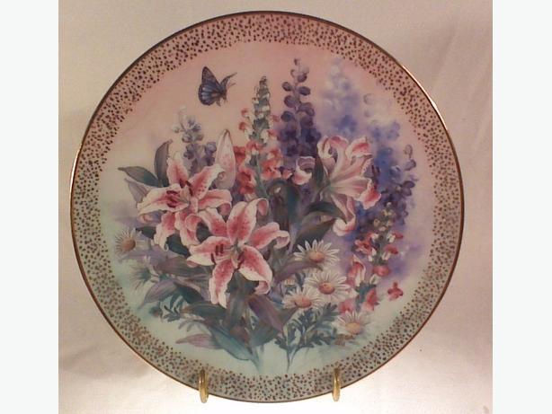 Lena Liu Lily Concerto collector plate