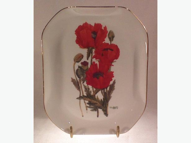Royal Doulton poppies plate