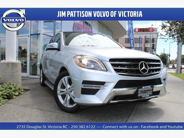 2013 mercedes benz m class ml 350 bluetec 4matic saanich. Black Bedroom Furniture Sets. Home Design Ideas