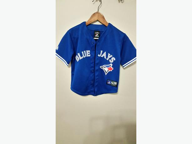 Majestic Toronto Blue Jays Youth Royal Official Cool Base Jersey